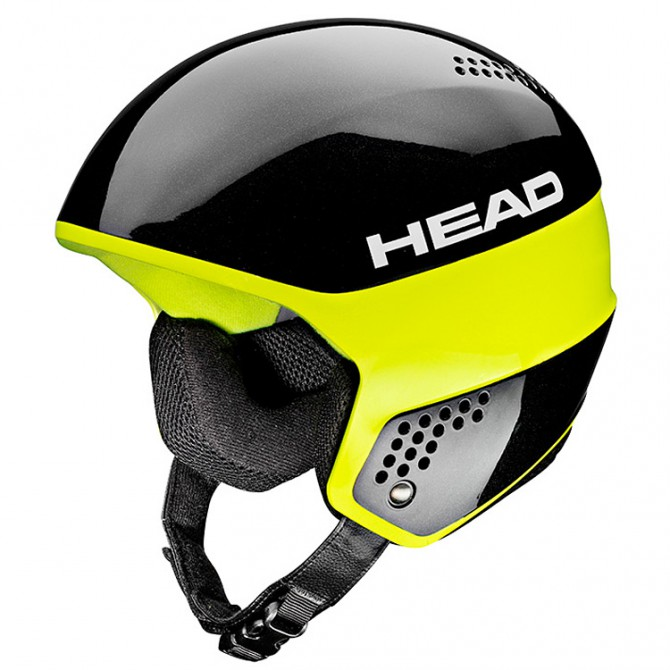 Casco sci Head Stivot Race Carbon nero