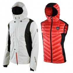 veste ski + gilet Emporio Armani Butter 271558-4A360 homme