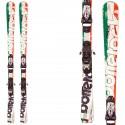 Ski Bottero Ski Italia + fixations Goode V212 + plaque Quicklook