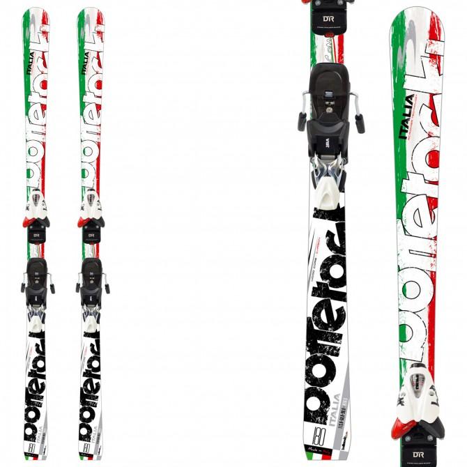 Sci Bottero Ski Italia + piastra Air Soft Caso 2 + attacchi V614