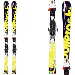 Ski Bottero Ski Gorba + bindings V614 + plate Air Soft Caso 2