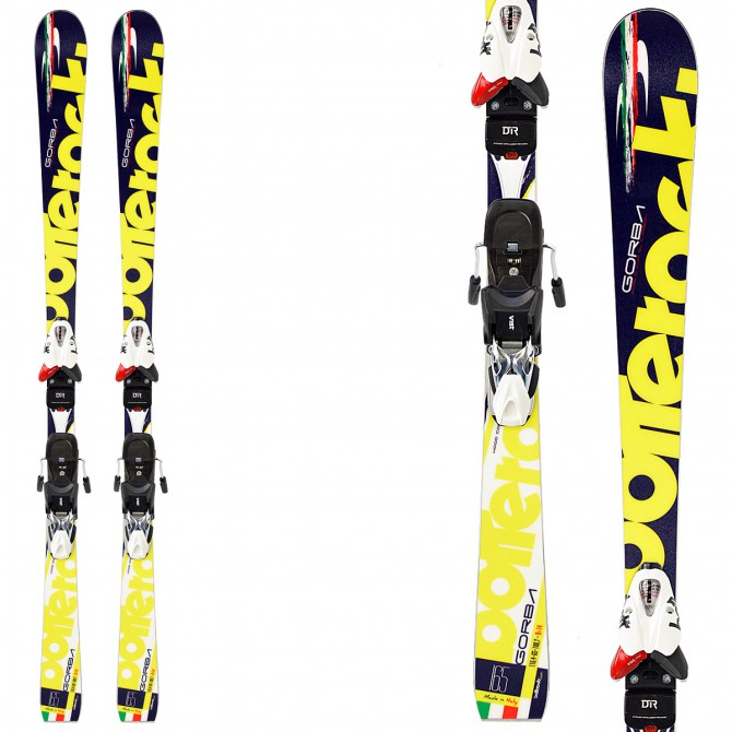 Sci Bottero Ski Gorba + attacchi V614 + piastra Air Soft Caso 2 BOTTERO SKI Race carve - sl - gs