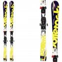 Ski Bottero Ski Gorba + fixations V614 + plaque Air Soft Caso 2