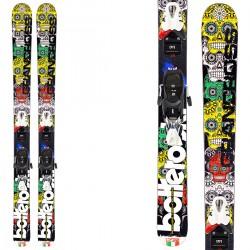 Ski Bottero Ski Gran Cross + fixations Vist V614
