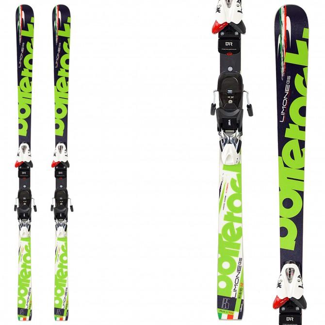 Sci Bottero Ski Limone + attacchi V614 + piastra Air Soft Caso 2 BOTTERO SKI Race carve - sl - gs