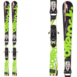 Ski Bottero Ski Limonetto + plate WC Race 13 + bindings Goode V212