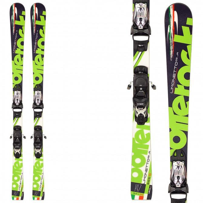 sci Bottero Ski Limonetto + piastra WC Race 13 + attacchi Goode V212