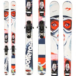 Ski Bottero Ski Urlo + plaque Quicklook + fixations Goode V212