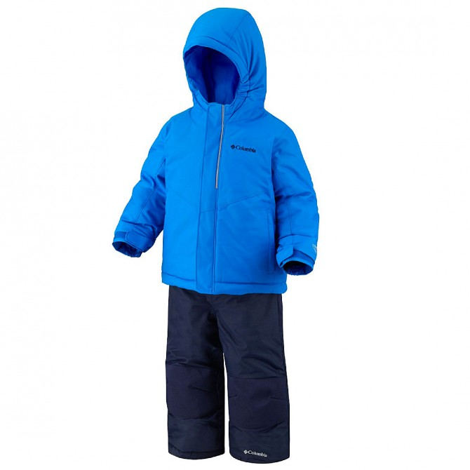 Completo sci Columbia Buga Baby blu