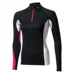 Underwear shirt Mizuno Virtual Body G1 half zip Woman