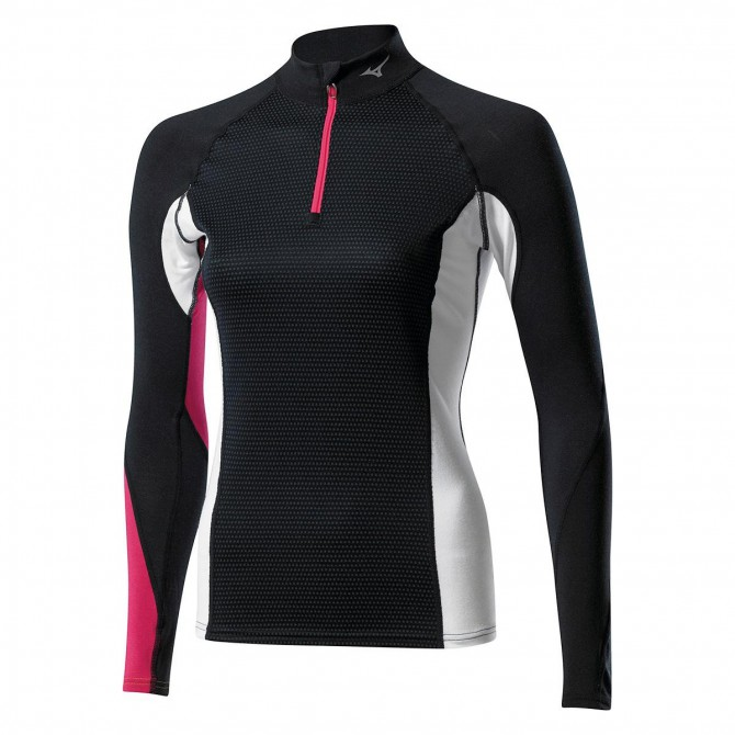 Maglia intimo Mizuno Virtual Body G1 half zip Donna