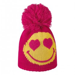beanie Brekka Smile pon Junior