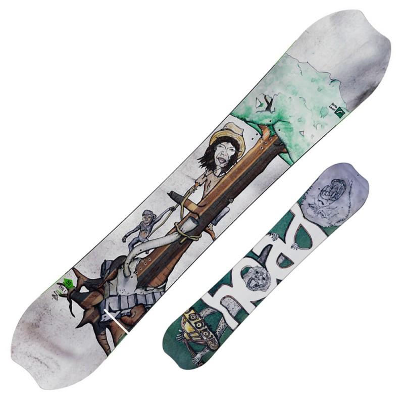 snowboard Head Evil I. Flocka