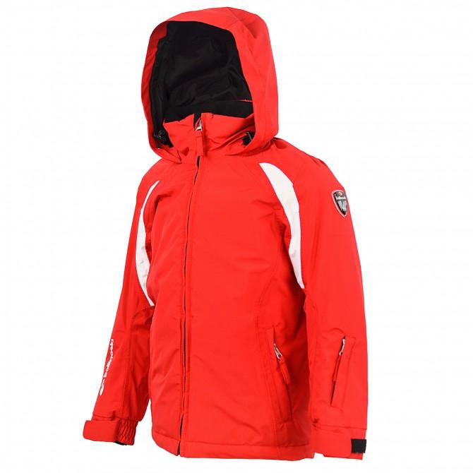 Giacca sci Bottero Ski Stuart Junior rosso