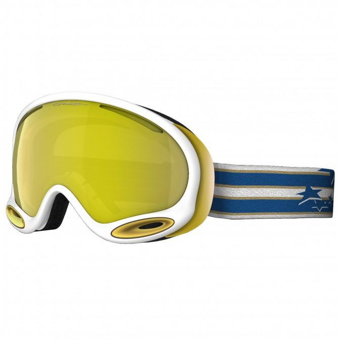 Maschera snow Oakley A-Frame bianco-oro