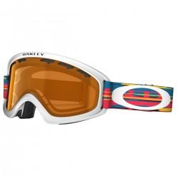 máscara snow Oakley O2 XS blanco