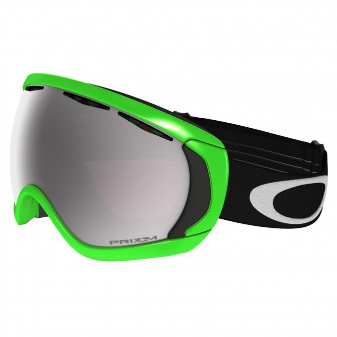 Maschera snow Oakley Canopy verde