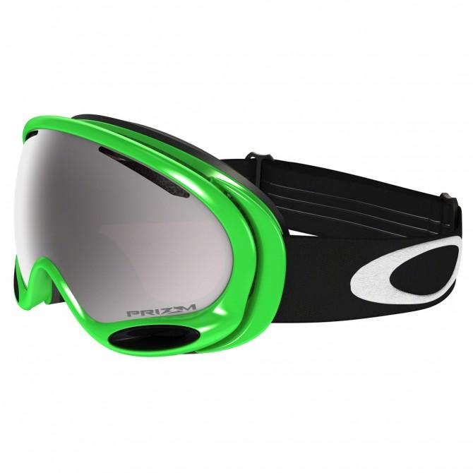 Maschera snow Oakley A-Frame verde