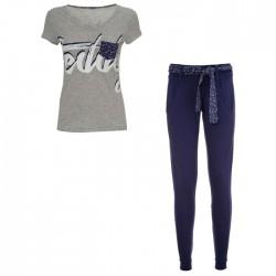Completo Freddy pantalone + t-shirt SINGTS Donna