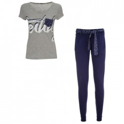 ensemble Freddy pantalon + t-shirt SINGTS femme