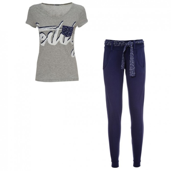 Completo Freddy pantalone + t-shirt SINGTS Donna