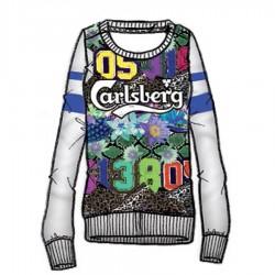 sudadera Carlsberg CBD1283 mujer