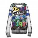Felpa Carlsberg CBD1283 Donna