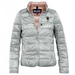 abrigo Blauer 15SBLDC03181 gris mujer