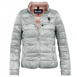 down jacket Blauer 15SBLDC03181 grey woman