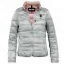 down jacket Blauer 15SBLDC03181 grey woman