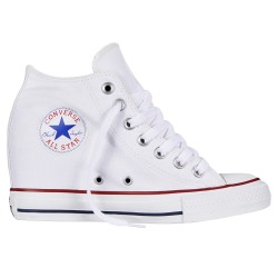 chaussures Converse All Star Lux Canvas blanc femme
