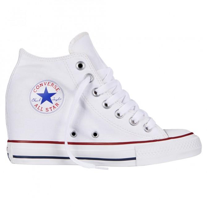 Scarpa Converse All Star Lux Canvas bianco Donna