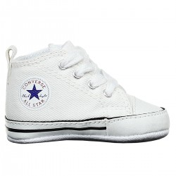 chaussures Converse All Star First Star blanc Baby