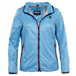 chaqueta Blauer 15SBLDC01417 azul claro mujer