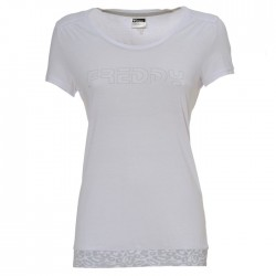 T-shirt Freddy with animalier details woman