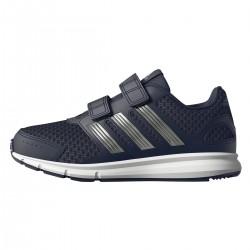 chaussure running Adidas lk Sport Junior navy fermeture de velcro