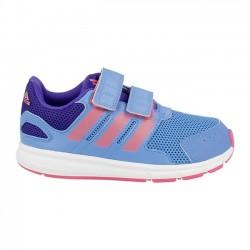 chaussure running Adidas lk Sport Baby bleu-rose