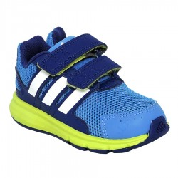 chaussure running Adidas lk Sport Baby bleu-vert citron