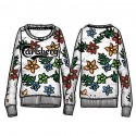 sweat-shirt Carlsberg CBD1262 femme
