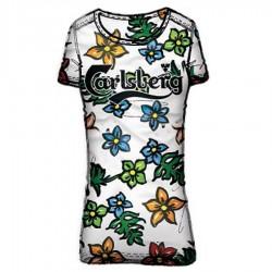 T-shirt Carlsberg CBD1264 mujer