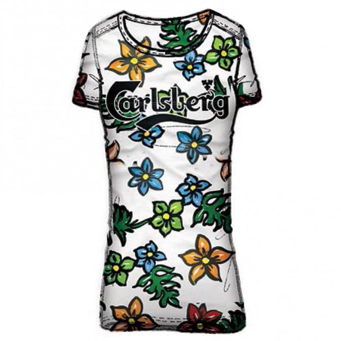 T-shirt Carlsberg CBD1264 Donna