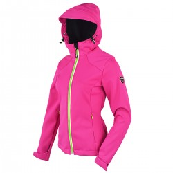 Windstopper Bottero Ski Smu Change fucsia Donna