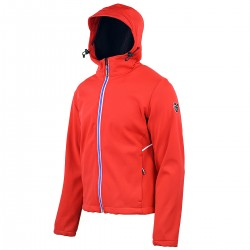 Windstopper Bottero Ski Smu Change rouge homme