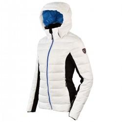 chaqueta de pluma de esqui Bottero Ski Sand blanco mujer