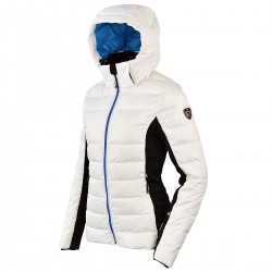 ski down jacket Bottero Ski Sand white woman