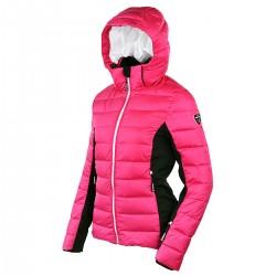 chaqueta de pluma de esqui Bottero Ski Sand fucsia mujer