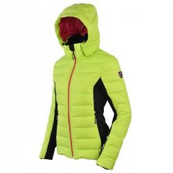 chaqueta de pluma de esqui Bottero Ski Sand lime mujer