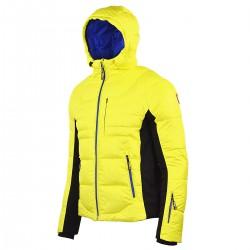 chaqueta de pluma de esqui Bottero Ski Quartz amarillo hombre