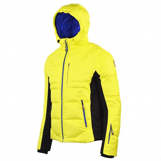 Piumino sci Bottero Ski Quartz giallo Uomo
