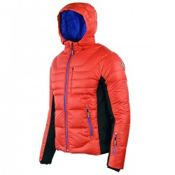 chaqueta de pluma de esqui Bottero Ski Quartz rojo hombre